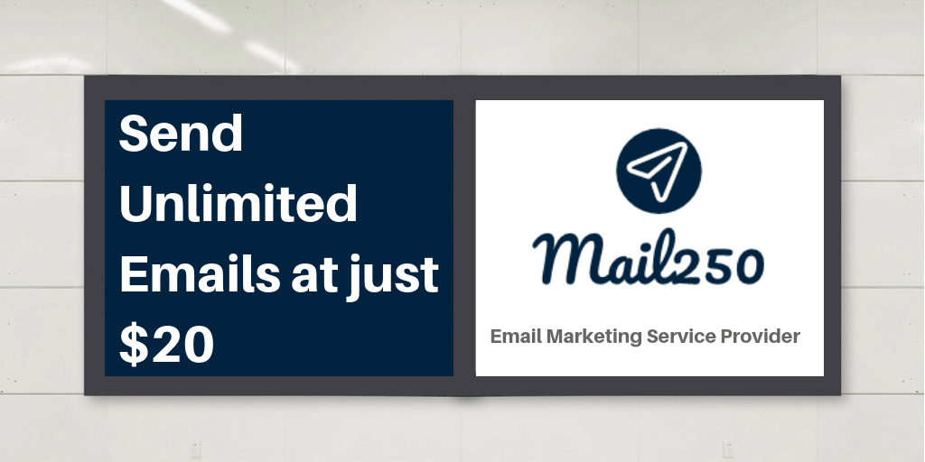 Bulk Email Marketing Service provider | Mail250 - Mailing at