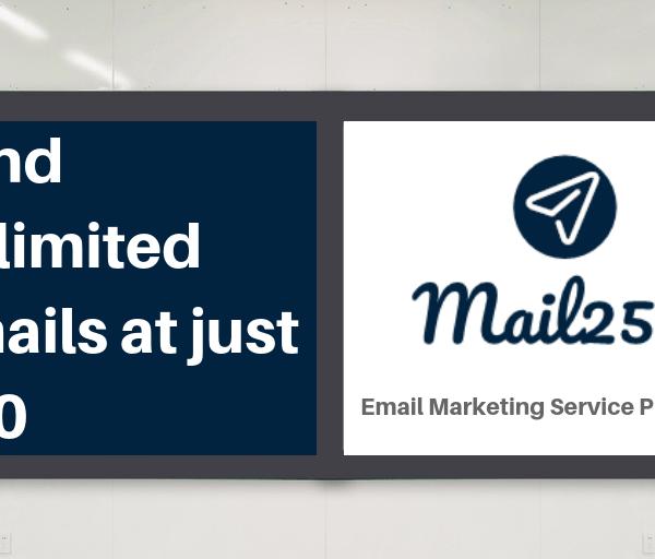 Bulk Email Marketing Service provider